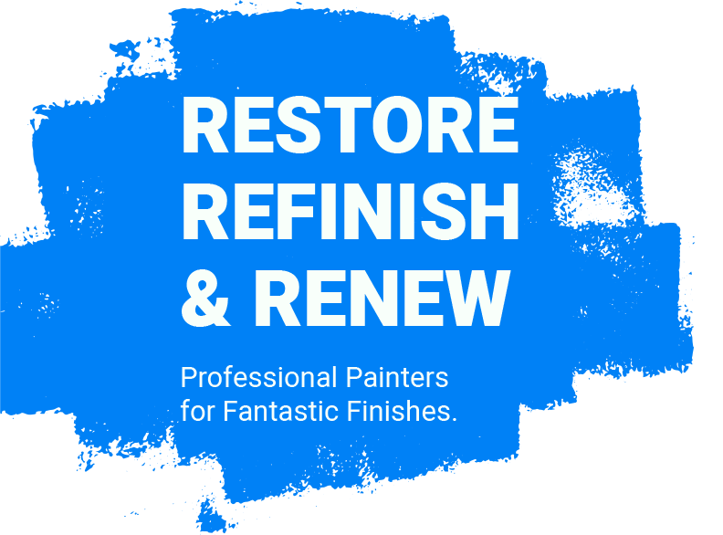 Restore Refinish and Renew with New Approach Painting
