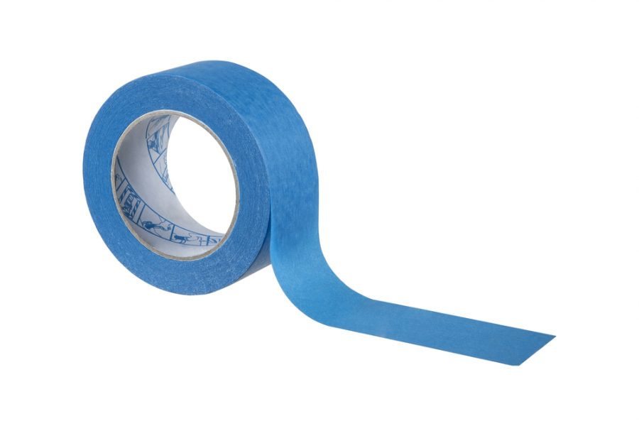 Blue painting tape