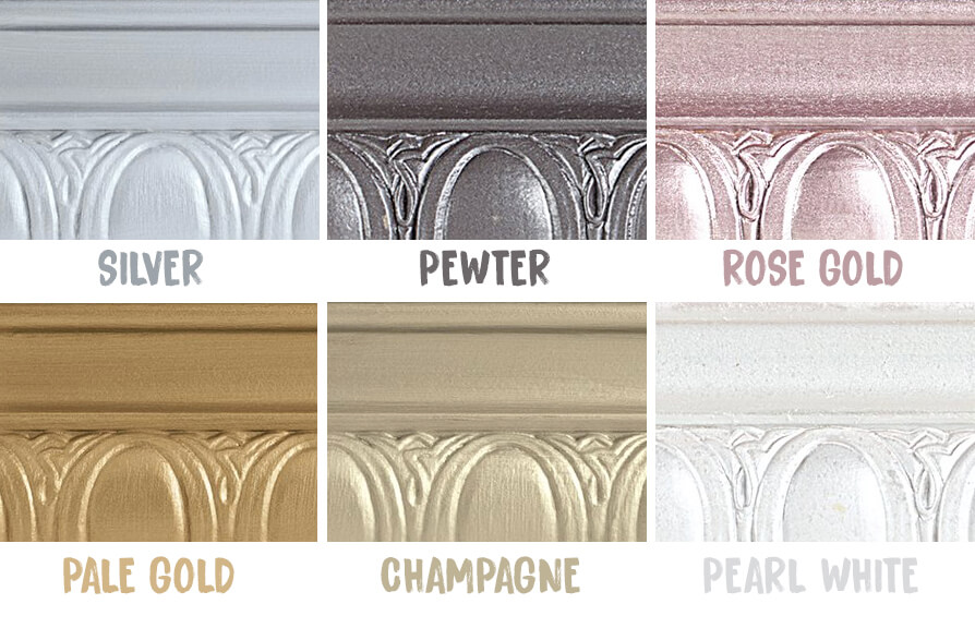Metallic paint colours